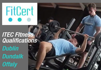 Fitcert fitness courses in Dublin Louth and Offaly