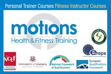 Fitness Instructor Course Dublin with Motions Fitness