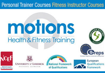 Motions Fitness Trainer Courses Dublin